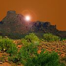 Superstition Mountain by Dennis Begnoche Jr.