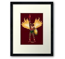 Sun-Man by Kevenn T. Smith Framed Print