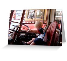 All Aboard!!!  - Cor they don't half recruit them young these days  Greeting Card