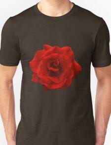 Single Red Rose. Unisex T-Shirt