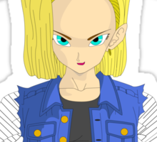 Dragonball Z Android 18 Sticker