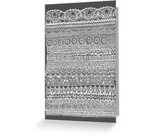 Layer Cake Grey Greeting Card