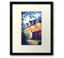 Boston House Framed Print