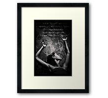 Lift Up Holy Hands Framed Print