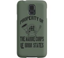 Property Marine Corps of Union States Samsung Galaxy Case/Skin