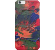 """Orchestral"" original abstract artwork by Laura Tozer iPhone Case/Skin"