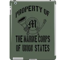 Property Marine Corps of Union States iPad Case/Skin