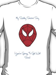 Spiderman - Get Well Soon T-Shirt