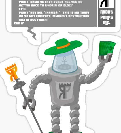 Robot Pimp Inc. - Line 10 Sticker