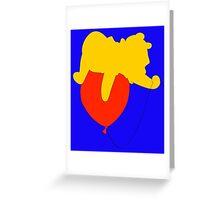 Winnie the Pooh - Disney Greeting Card