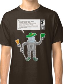 Robot Pimps Inc.  - Line 20 - Dark Classic T-Shirt
