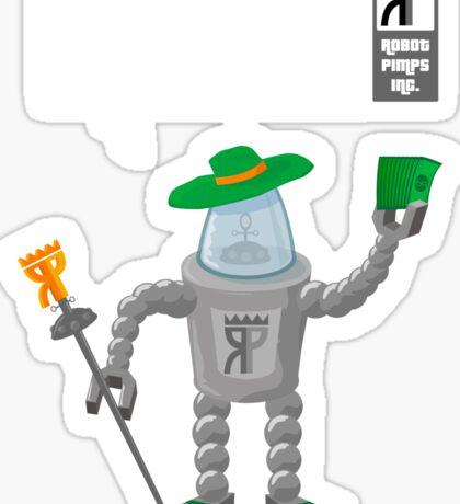 Robot Pimps Inc.  - Line 20 - Dark Sticker