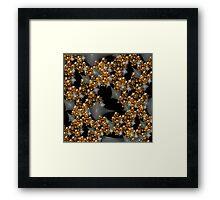 'Gold in the Matrix' Framed Print