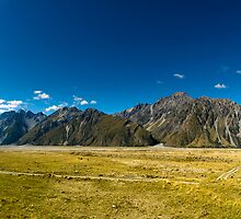 Mt Cook nationl park panorama by peterwey