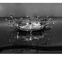 Mercury  Splash Photographic Print