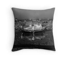 Mercury  Splash Throw Pillow