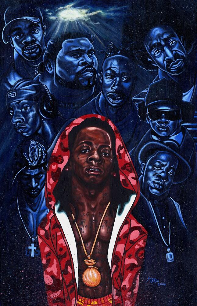 """Lil' Wayne"" by Max  Marin"