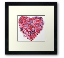 Wild and Unruly - Heart Framed Print