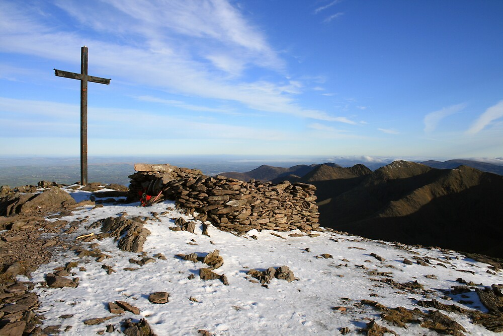 Carrauntoohil summit by John Quinn