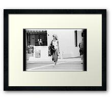 00400 Framed Print