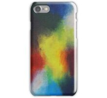 """""""Giallo"""" original abstract artwork by Laura Tozer iPhone Case/Skin"""