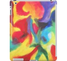 """""""Touch of Madness"""" original abstract artwork by Laura Tozer iPad Case/Skin"""