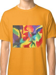 """Touch of Madness"" original abstract artwork by Laura Tozer Classic T-Shirt"