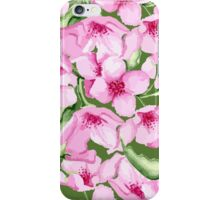 Floral pink pattern iPhone Case/Skin