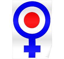 Female mod Poster