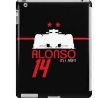 Fernando Alonso 2015 - White iPad Case/Skin