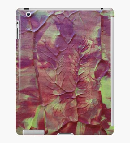 """Hazardous"" original abstract artwork by Laura Tozer iPad Case/Skin"