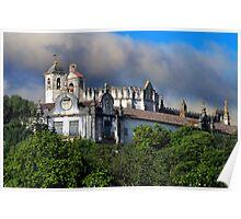 Tomar, Crist convent (Templars convent) Portugal Poster
