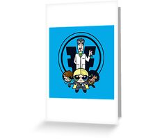 Power Fringe Division Greeting Card