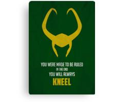 Loki of Asgard Canvas Print