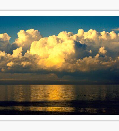 Beyond The Clouds Sticker