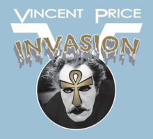 Vincent Price Invasion Kids Tee