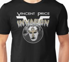 Vincent Price Invasion Unisex T-Shirt