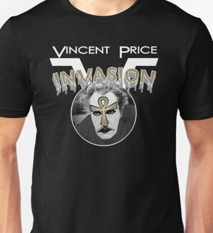 Vincent Price Invasion Unisex T-Shirt