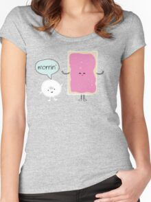 Donut and Pop Tart Friends Women's Fitted Scoop T-Shirt