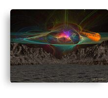 Asteroid Vally 3 Canvas Print