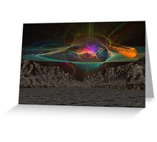 Asteroid Vally 3 Greeting Card