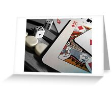 A Game of Two Halves Greeting Card