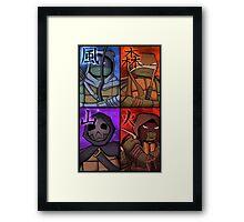 TMNT: Vision Quest Framed Print