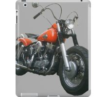 Red Pan Bobber iPad Case/Skin