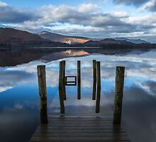 Lake District Jetty  by Chris Taylor