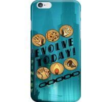 Evolve Today! (Splatter) iPhone Case/Skin