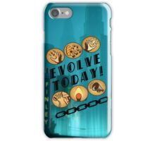 Evolve Today! (Splatter) iPhone Case/Skin