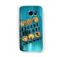 Evolve Today! (Splatter) Samsung Galaxy Case/Skin