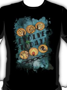 Evolve Today! (Splatter) T-Shirt