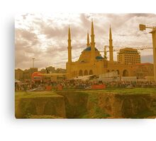 beirut mosque Canvas Print